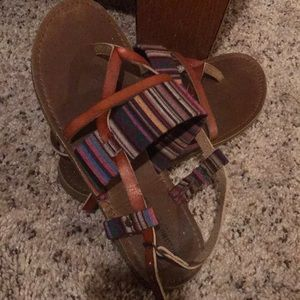 Missimo supply co travel sandals